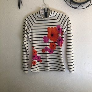 J. Crew long sleeve top color cream Size S